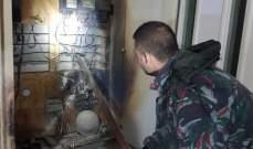 النشرة: اطفائية بلدية صيدا اخمدت حريقا داخل بناية السنيورة والبزري في حي النبعة