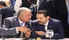 """""""مصالحة"""" بين الحريري والمشنوق """"على النار""""؟!"""