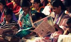 النتائج الاولية في انتخابات الهند تشير إلى تقدم كبير لحزب القوميين الهندوس