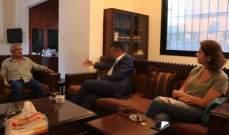 أسامة سعد عرض الأوضاع مع عبس: للتغيير الشامل في مختلف المجالات