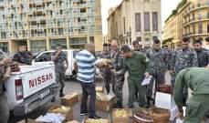 بلدية بيروت نظمت حواجز محبة في أحياء العاصمة بذكرى المولد النبوي