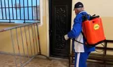 بلدية بعلبك عقمت مباني ومكاتب المؤسسات والإدارات العامة