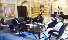 دياب عقد إجتماعا للجنة التحقيق الإدارية وتلقى اتصال من رئيس الدومينيكان
