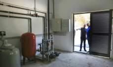 فرنجيه يطلق محطة لتكرير المياه تقع بين بنشعي وعرجس