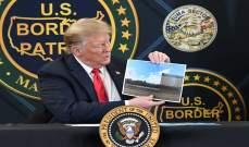 ترامب: جداري الحدودي أوقف كورونا