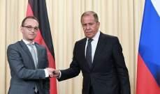 وزيري خارجية روسيا وألمانيا بحثا آفاق تنفيذ اتفاقيات مينسك لتسوية النزاع في أوكرانيا