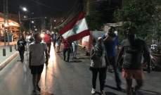 مسيرة احتجاجية لحراك صور ضد الجوع والغلاء وتردي الأوضاع الإقتصادية والمعيشية