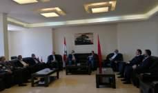 الحسنية بحث مع بقرادونيان الأوضاع العامة والتحديات التي تواجه لبنان والمنطقة