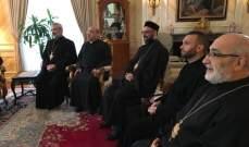 السفير البابوي في كندا للبطريرك عبسي: تضامننا مع مسيحيي الشرق لن يتوقف