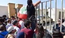 اعتصام امام وزارة التربية للمطالبة بتحقيق مطالب الحراك