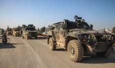 المرصد السوري: 75 آلية تركية محملة بمعدات عسكرية ولوجستية دخلت منطقة خفض التصعيد بإدلب