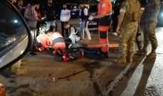 النشرة: سقوط جريح بحادث صدم في صيدا