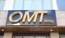 OMT: تسليم قيمة الحوالة الواردة من الخارج نقداً وبالدولار