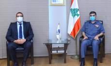 عثمان استقبل ضابط الارتباط لدى السّفارة الأميركية في بيروت