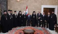 البطريرك ايريناوس: اتينا بزيارة سلام نتطلع اليه معا كما يتوق اليه العالم