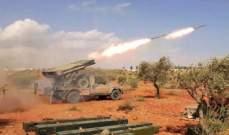 المرصد السوري: قصف صاروخي متبادل بين قوات النظام والفصائل على جبهات ريفي إدلب وحلب