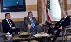 رامبلينغ بعد لقائه فهمي: نفرق بين موقفنا من حزب الله ومن الحكومة الجديدة