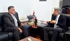 اللواء ابراهيم زار فياض: المسؤولون العراقيون مستعدون لتمديد إتفاق الفيول وراغبون بمساعدة لبنان
