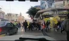 النشرة: مناصرون لامل وحزب الله اعتصموا في بعلبك مقابل المتظاهرين