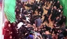 الحدث: ارتفاع حصيلة ضحايا التدافع بعد انهيار جزء من ممشى بكربلاء إلى 31 قتيلا