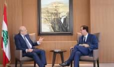 ميقاتي التقى السفير الفرنسي وبحث معه التطورات الراهنة