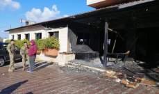 النشرة: اندلاع حريق في مطعم بمنطقة الصالحية شرق صيدا