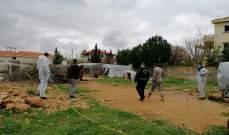الأمن العام: تعقيم مخيمات النازحين السوريين في قضاء الهرمل