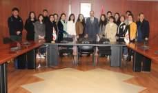 أيوب للطلاب الصينيين في الجامعة اللبنانية: نعتذر عن أي إساءة لحقت بكم