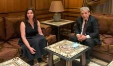 القائمة بأعمال سفارة قبرص التقت بزي: ستتم مراجعة قرار عدم السماح للبنانيين من دخول قبرص