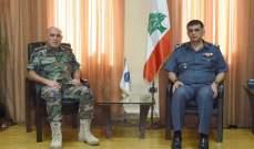 اللواء عثمان بحث مع لواء الدعم في الجيش التنسيق بين جميع الأجهزة الأمنية