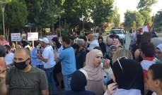 حراك بعلبك ينظم مسيرة احتجاجا على الأوضاع المعيشية والاقتصادية