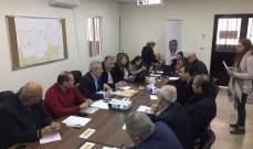 اجتماع في مكتب محافظ عكار استكمالا لتأهيل ساحة شهداء الجيش في العبدة