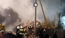 مقتل 4 أشخاص نتيجة انهيار مبنى في منتجع تزلج ببولندا بعد انفجار غاز