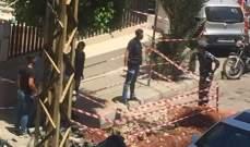 العثور على قذيفة غير منفجرة من مخلفات الحرب في عائشة بكار