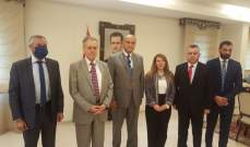 الخطيب زار السفارة السورية: لضرورة تفعيل العلاقة مع دمشق