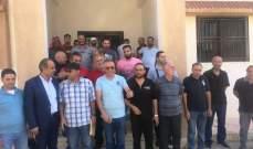 إعتصام لعمال تشغيل أنظمة المياه في بعلبك- النبي شيت احتجاجا على عدم دفع الأجور