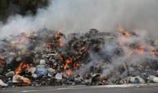 النشرة:انفجار جسم غريب أثناء حرق النفايات ببلدة ميمس