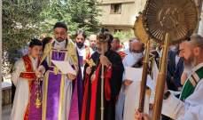 أبرشية زحلة والبقاع للسريان الارثوذكس أحيت الذكرى 106 للابادة السريانية