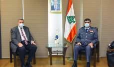اللواء عثمان عرض مع يان كوبيش الأوضاع العامة في البلاد