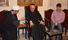صادق النابلسي: قيمنا الإسلامية تدعونا للتعامل بإيجابية مع المكونات الدينية