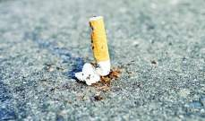 500 درهم غرامة رمي أعقاب السجائر على الأرض في أبوظبي