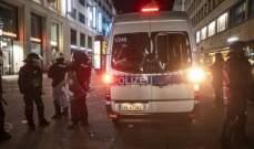 تحطيم واجهات متاجر وأعمال نهب وهجمات على رجال الشرطة في المانيا