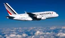 الحدث: الطيران الفرنسي يعلن وقف الرحلات فوق إيران والعراق