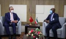 جاويش أوغلو: نحرص على تطوير علاقاتنا الاقتصادية مع غينيا الاستوائية
