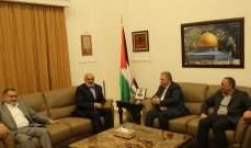 دبور يستقبل رئيس المكتب السياسي لحركة امل