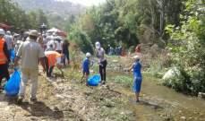 الحمرا يطالب باستحداث محطة تكرير للمياه المبتذلة لرفع التلوث عن نهر الحاصباني