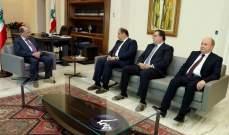الرئيس عون: الأوضاع الاقتصادية ستكون من أولويات الحكومة فور تشكيلها