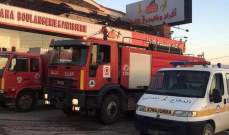 الدفاع المدني: سقوط جريح جراء حادث صدم في طريق الجديدة