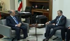 مصادر للـMTV: نية للرئيس عون وباسيل بتحرك ما باتجاه الحكومة لكنه ليس واضحا بعد