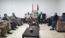 ممثل حماس في لبنان التقى السفير الفلسطيني وبحث معه  مستجدات القضية الفلسطينية